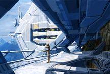 The art of Mass Effect / Matt Rhodes, Brian Sum, Ben Huen, Mikko Kinnunen, Jaemus Wurzbach, Leroy Chen, Ken Finlayson, Rion Swanson, Herbert Lowis, Rodrigue Pralier, Mike Lim
