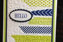 Washi Tape and Embossing Folders