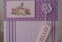 Audrey freubelt / voornl kaarten en div andere knutsels