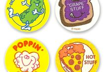 Scratch n Sniff / Smelly stickers