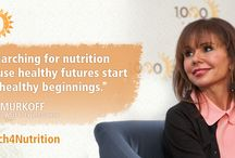 #March4Nutrition / Research has shown that good nutrition during the critical 1,000 day window from a woman's pregnancy through her child's second birthday can set the foundation for lifelong health and well-being, and help break the cycle of poverty.  So join us as we #March4Nutrition every day and help ensure that every child - regardless of where they are born - has the opportunity to reach his or her full potential.