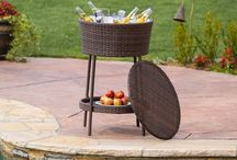 Outdoor Ice Bucket Table