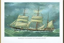 Old ships, boats and yachts / Antique artworks featuring old ships, boats and yachts
