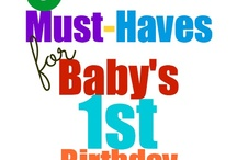 First Birthday Party Ideas!! / by Sue Ann Mohamed