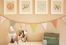 Baby/Kid rooms / by Stephanie Miller
