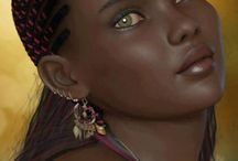 Natures Naturally Beautiful Portraits / Naturally beautiful people gifted with outstanding facial features.