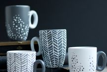 Paint on mugs