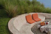 Loungeplek tuin