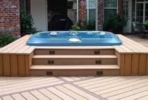 Hot tubs and decking