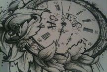 thigh clock dreamcatcher