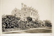The History / A collection of photographs taken between 1890-1900 during William Robinson's ownership of the Manor.