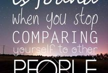 inspirational quotes / a quote that inspires you to do things