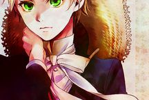 Moje oblíbené Anime charaktery                        (My favorites anime character)                              - Anime mix - / Kuroshitsuji, Bakugan, Tokyo Ghoul, Mirai nikki, Akame ga kill!