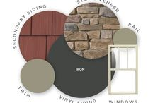 Gray Siding Colors / Gray is the new beige in siding colors. Looking for a gray color palette that is on-trend? Check out our gray siding color ideas below.
