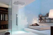 Waterfall Showers / A selection off the web if waterfall showers