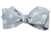 Noeud papillon, les fleuris - Bow Tie / Collection de noeuds papillon. Victoria Lebrero Fabrication française