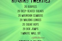 AB Workouts / A collection of ab workouts to help us understand:  The best ab workouts to do after pregnancy. How to get flat abs Core strengthening How to chisel a six pack  ...And hope the abs actually show up. / by Jill K Fitness