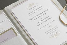 Wedding Paper / Wedding invitations, save the date cards, programs, menus, place cards, anything printable.