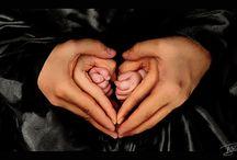 Babybilder / Inspirasjon til fine bilder av baby/familie