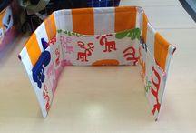 Waiting room / DIY interior textiles made by 9th grade