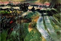 John Piper artist / Master of line and color