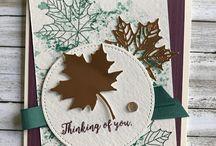 DIY Cards - Fall & Autumn