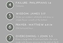 bible journaling for ris