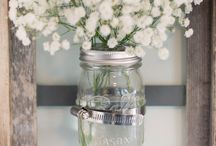mason jar / by Sabrina des VASTINES