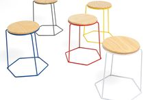 stackABLES / Furniture you can stack and sabe space or create new shapes because they are modular