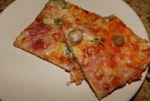 bleskove testo na pizzu