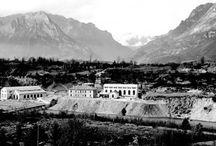Sass Muss – L'ex Chimica Montecatini in Veneto / Sass Muss è uno dei siti di archeologia industriale più interessanti delle Dolomiti.