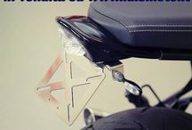 Codino corto con porta targa frank BMW r nineT / Codino corto con porta targa frank BMW r nineT