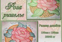 Machine Embroidery Designs. Дизайны для машинной вышивки от Налы