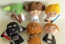 star Wars feltro