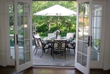 Order beautiful french doors / Order beautiful french doors and make the most of your beautiful garden. There is no doubt about it, our french doors will add that special touch of class and bring the outside into your home in a practical and stylish manner. These stunning doors can be installed wherever you want to connect your home with the outside. conservatory, kitchen or living room – Balcony etc..