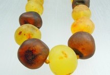 Necklaces in Amber / our Amber necklaces are made out of real (fossilized tree resin) Baltic Amber