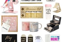 Gifts Guides For Everybody / Great gift ideas for women. Awesome gift ideas for men! Gifts for children, themed gift guides for hobbies! Gifts for her, gifts for him! Gifts for grandparents and grandchildren. Don't forget gift guides for pets, like dogs and cats too!