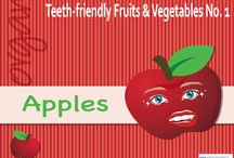 Teeth-friendly Fruits & Vegetables / Know the different Teeth-friendly Fruits & Vegetables that will give you a healthy white smile plus a stronger healthier body.