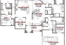 Future Home Floor Plans / by K. C.