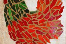 Mosaic chooks