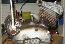 MOTO DERBI RABASA / Proceso de restauración de una moto Derbi Rabasa