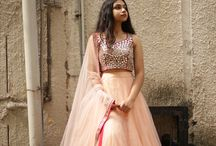 Parindey: Pastel Stories / Embrace the princess that you are in this dreamy collection of lehengas in the most delicious pastel shades there are.