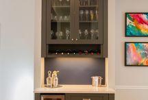 Bar cupboard