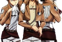 Attack On Titan / Things for mum to reference