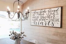 Holy quotes in interior