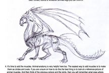dragon scetches