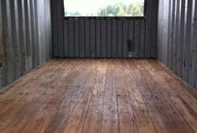 Container home floor