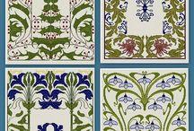 Art Nouveau, Art Deco and 1920-30ies / Art Deco and Art Nouveau mixed to inspire