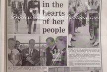 17 October 1990: Princess Diana visits Chartham, Kent, / Princess Diana in Kent opening the Tenterden Leisure Centre
