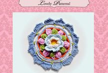 Crochet Rosette Pattern 06 - via @Craftsy
